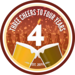 BADGE_UNTAPPD Untappd 4th Anniversary
